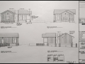 Cama Beach - welcome center permit drawings